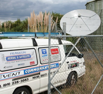 Franklin Aerial & Satellite - Commercial Dish Install